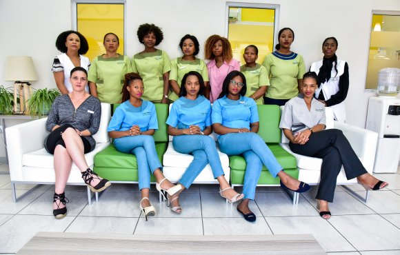 Dr Ngema Orthodontist Ladies Staff